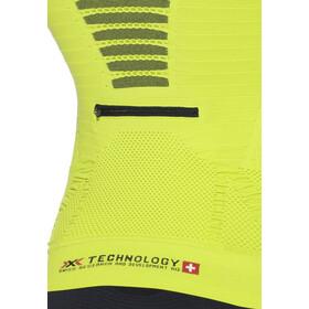 X-Bionic Trail Running Effektor Zip-Up Shirt LS Herr green lime/black
